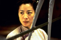 Michelle Yeoh as Yu Shu Lien