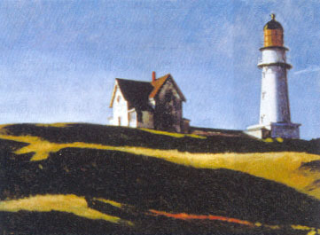 Edward Hopper: Lighthouse Hill