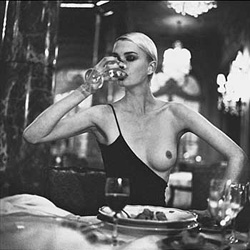 Helmut Newton • French Vogue, Paris 1996 • Photo Courtesy of Museum für Kunst und Gewerbe, Hamburg